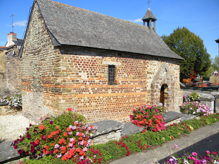 Journées du patrimoine 2018 - Visite commentée de la chapelle Ste Agathe - Langon