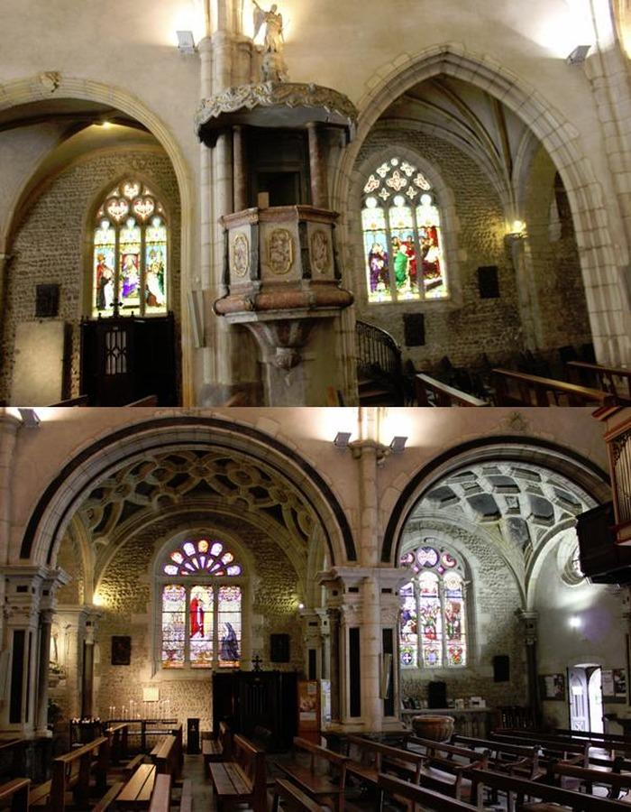 Journées du patrimoine 2018 - Visite commentée de la collégiale Notre Dame des Marais.