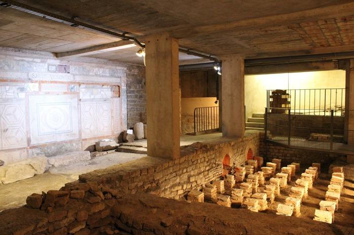 Journées du patrimoine 2018 - Visite commentée de la domus gallo-romaine