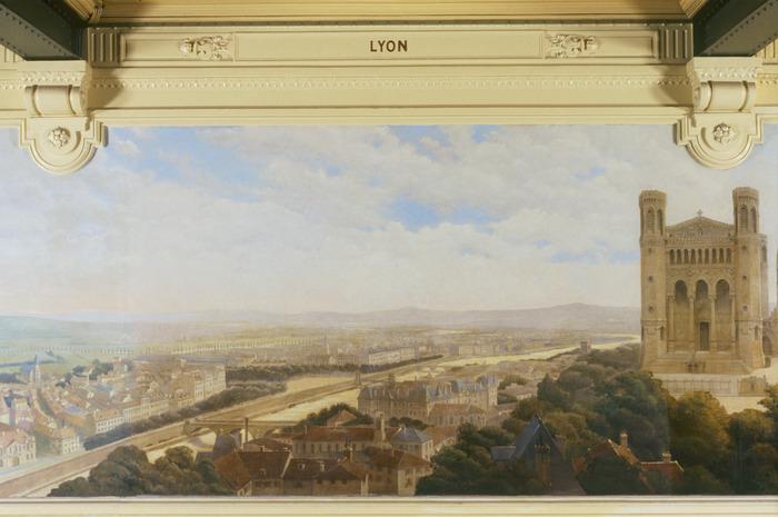 Journées du patrimoine 2017 - Visite commentée de la Galerie des Fresques de la Gare de Lyon.