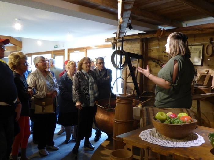Journées du patrimoine 2018 - Visite commentée de la Maison du Fromage Abondance.