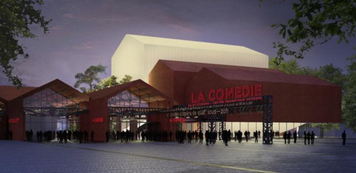 Journées du patrimoine 2017 - Visite commentée de la nouvelle Comédie de Saint-Etienne - Centre dramatique national