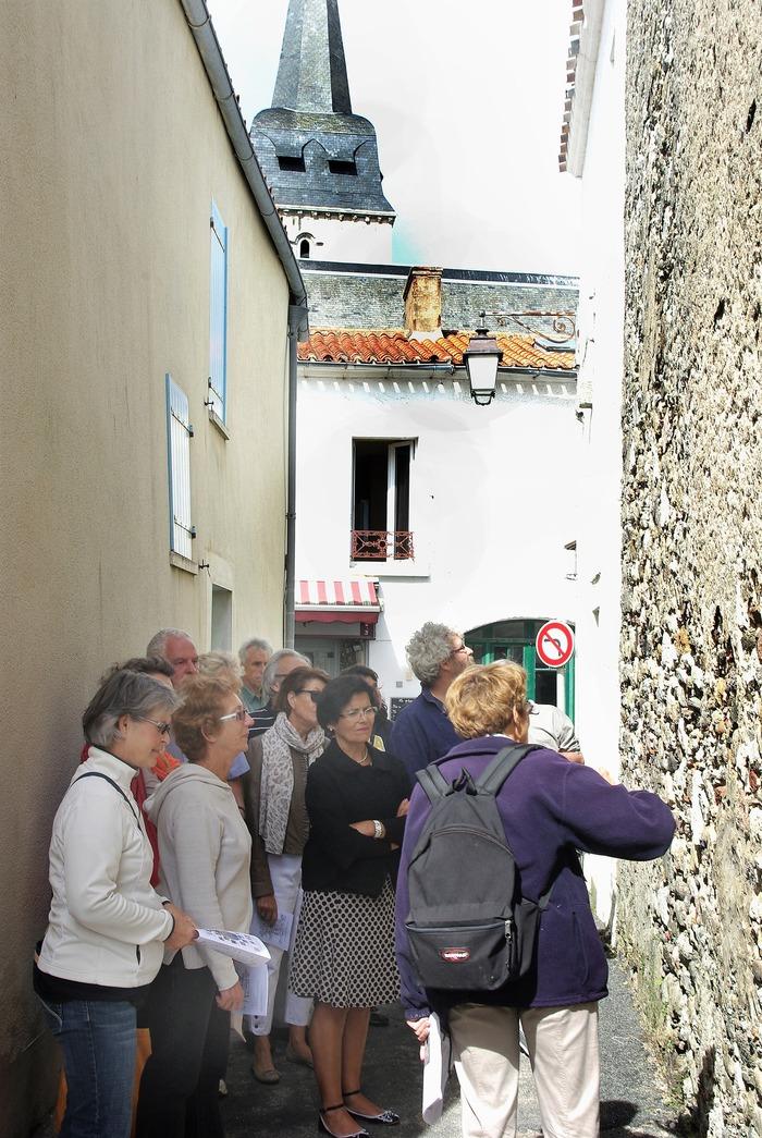 Journées du patrimoine 2018 - Visite commentée : découverte des murs en pierres de lest.
