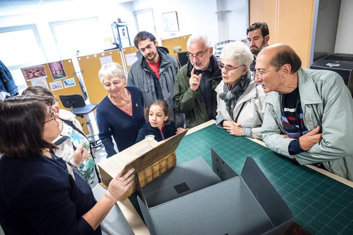 Journées du patrimoine 2018 - Visite commentée des archives municipales
