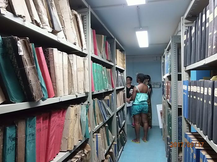 Journées du patrimoine 2018 - Visite commentée des Archives territoriales de Guyane