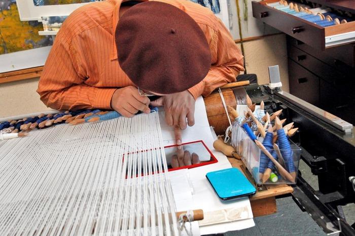Journées du patrimoine 2018 - Visite guidée des ateliers de tissage