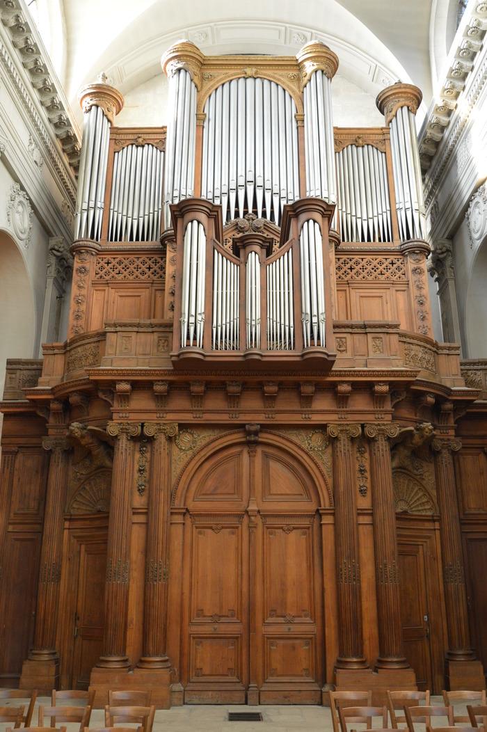 Journées du patrimoine 2018 - Visite commentée des grandes orgues de Notre-Dame des Blancs-Manteaux