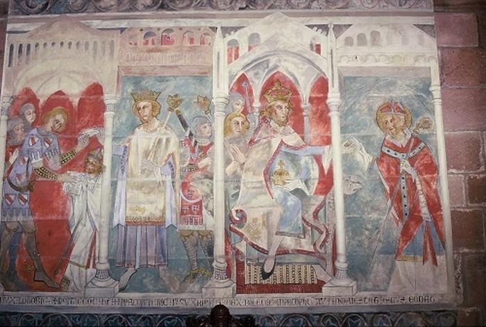 Journées du patrimoine 2018 - Visite commentée des peintures murales de la cathédrale