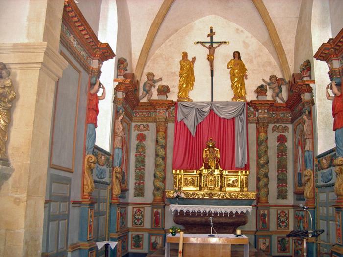 Journées du patrimoine 2018 - Visite guidée des retables de l'église