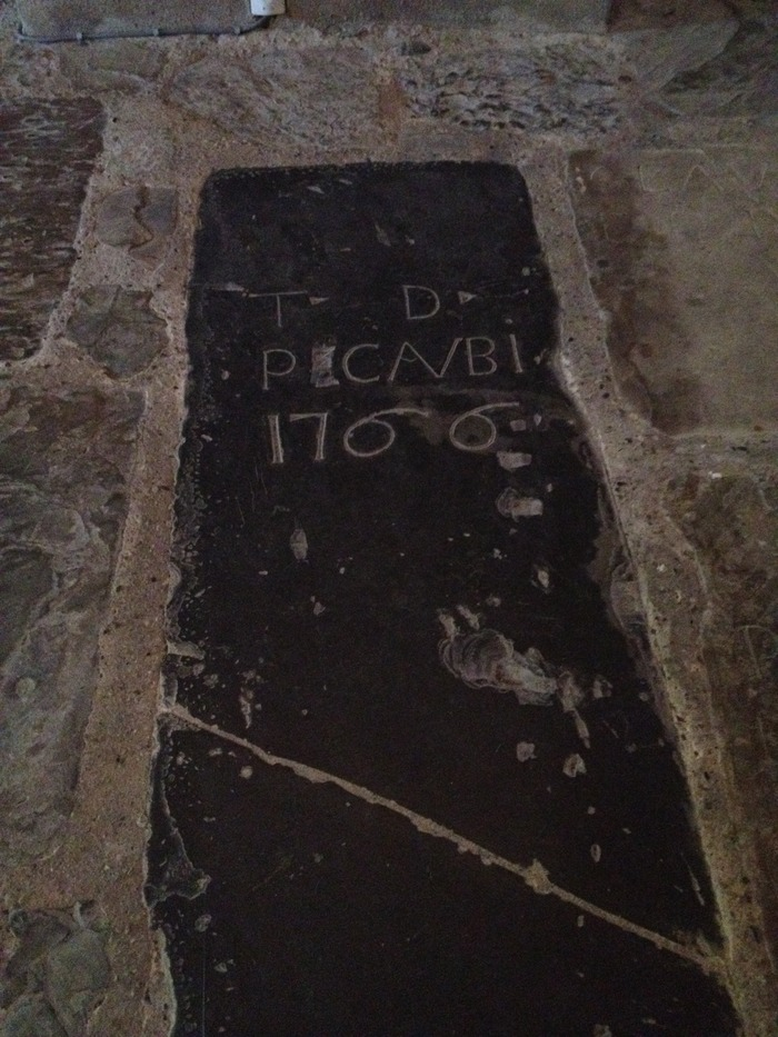 Journées du patrimoine 2018 - Visite commentée des sépultures de l'église Sainte-Croix