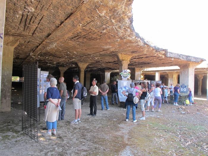 Journées du patrimoine 2018 - Visite commentée des vestiges de la Centrale de montage V