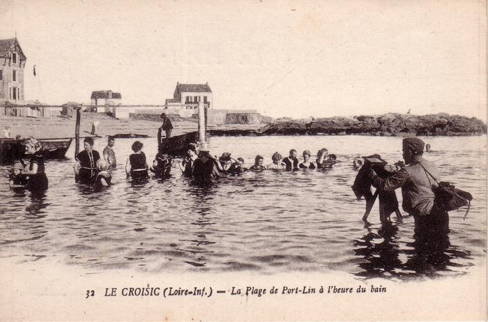 Journées du patrimoine 2018 - Visite commentée « Du boulevard de l'Océan à Port-Lin, l'aventure balnéaire du Croisic »