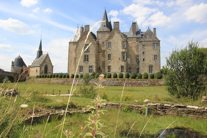 Journées du patrimoine 2017 - Visite commentée du château de Bourgon