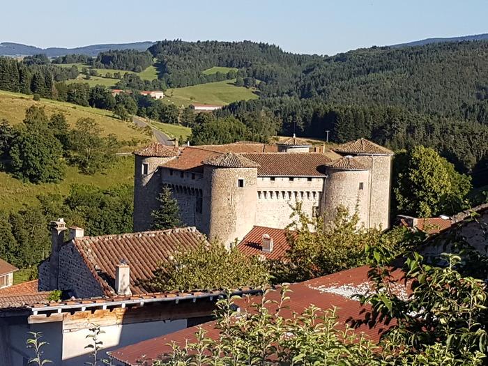 Journées du patrimoine 2018 - Visite commentée du château de Chalmazel.