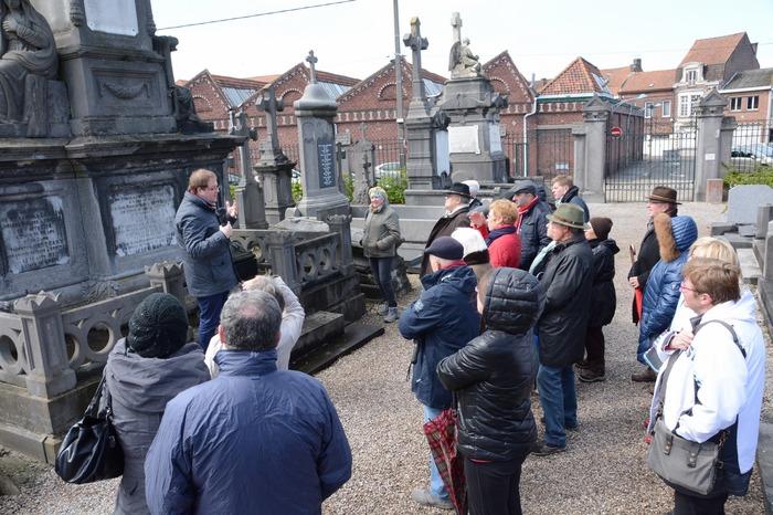 Journées du patrimoine 2018 - Circuit guidé du cimetière Nord de Comines