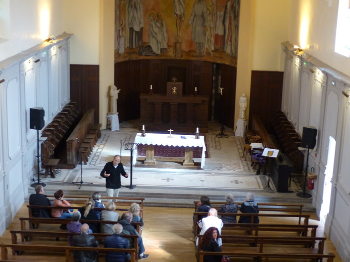 Journées du patrimoine 2018 - Visite commentée du collège et de la chapelle Victor de Laprade.
