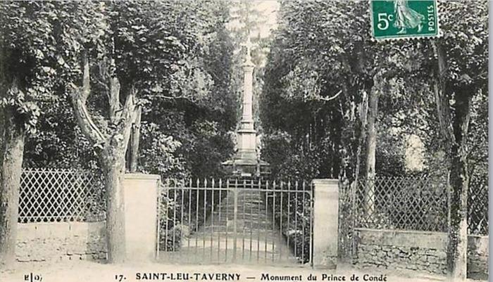 Journées du patrimoine 2017 - Visite commentée du monument des Condé