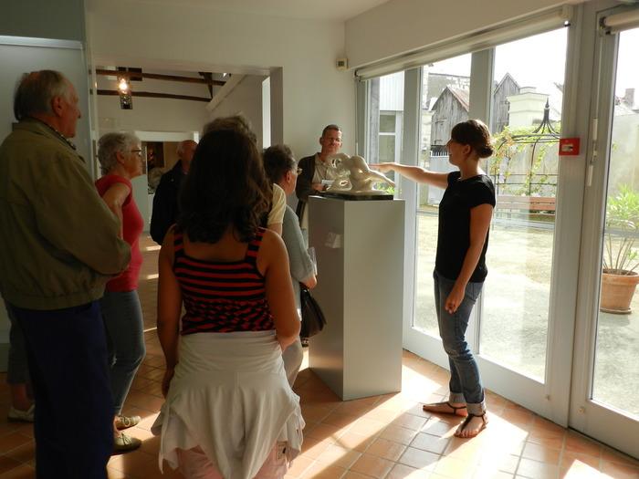 Crédits image : Visite au musée Jules-Desbois, DAMM