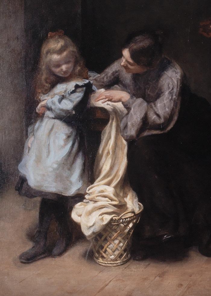Crédits image : J. G. Besson, La Capucine (détail), dépôt du FNAC, musée des Beaux-Arts de Lons-le-Saunier