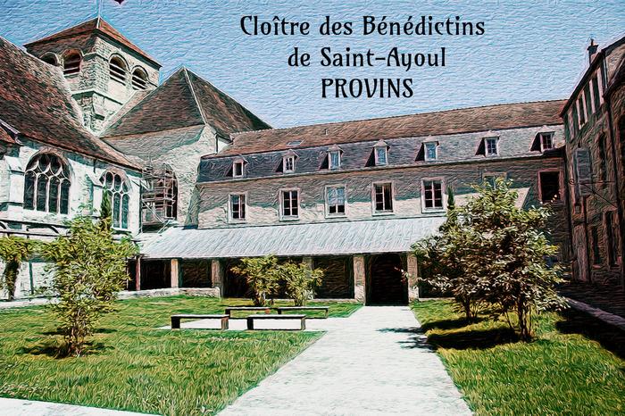 Journées du patrimoine 2018 - Visite commentée du prieuré des bénédictins de Saint-Ayoul