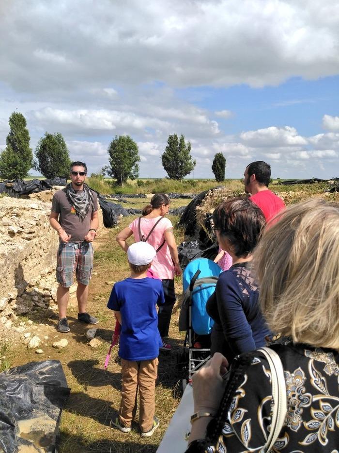 Journées du patrimoine 2018 - Visite commentée du site archéologique