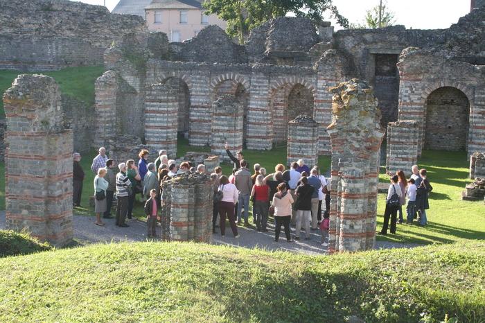 Crédits image : cliché Forum antique de Bavay, Département du Nord