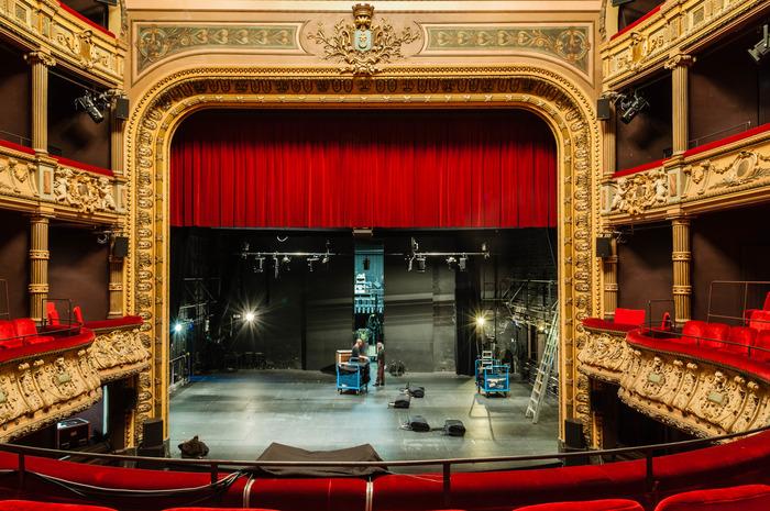 Journées du patrimoine 2018 - Visite commentée du théâtre de Roanne.