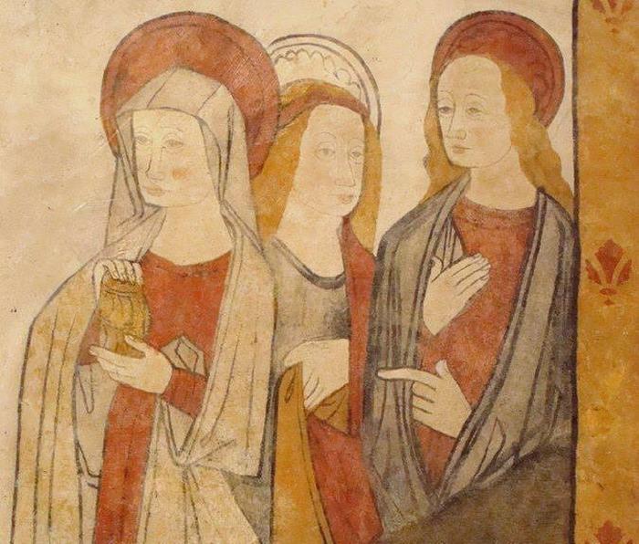Journées du patrimoine 2018 - Visite commentée du village et des fresques de l'église Saint-Eutrope