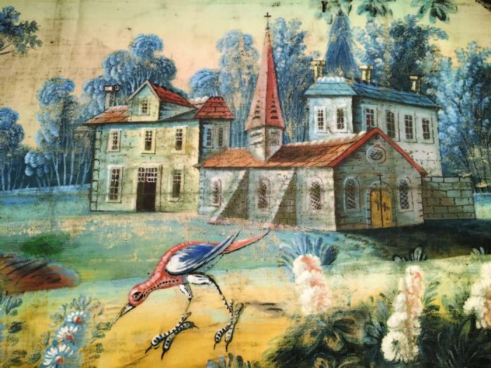 Journées du patrimoine 2018 - Visite commentée des toiles peintes du presbytère (18e siècle)