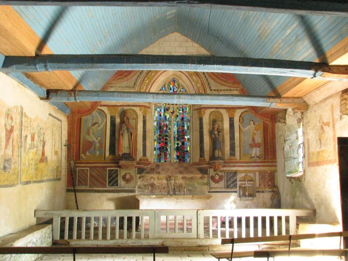 Journées du patrimoine 2018 - Visite commentée de la chapelle St Clément et de ses peintures murales