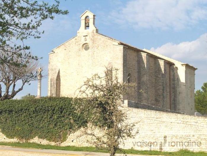 Crédits image : La Chapelle Saint-Quenin réf 7-01 - Service Communication Ville de Vaison-la-Romaine