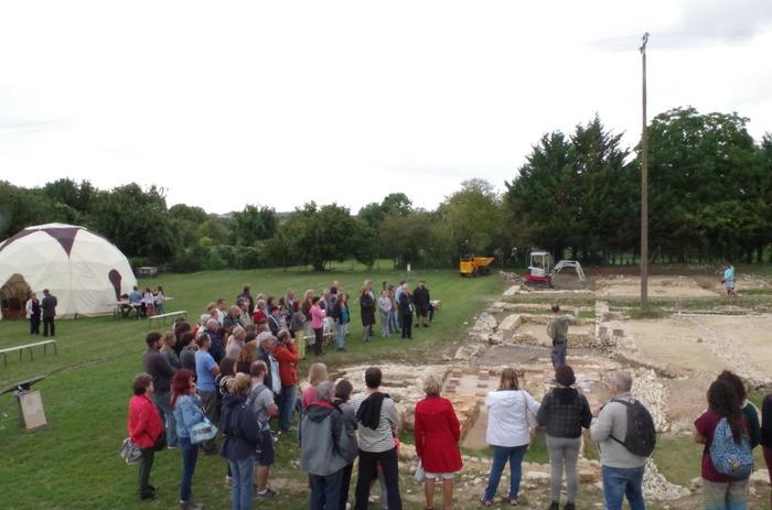 Journées du patrimoine 2018 - Visite commentée des vestiges archéologiques