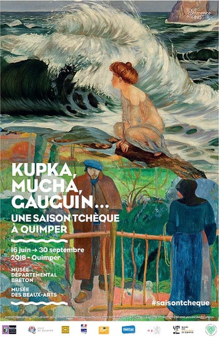 Journées du patrimoine 2018 - Visite couplée « De Gauguin à Mucha : une saison tchèque à Quimper »