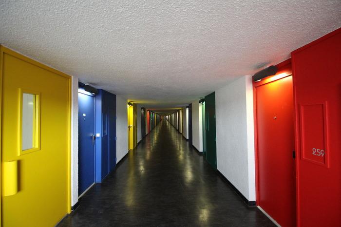 Journées du patrimoine 2018 - Visite d'appartements privés au sein de l'Unité d'Habitation Le Corbusier de Firminy.
