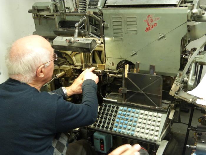 Journées du patrimoine 2017 - Visitez l'atelier de typographie Aencrage & Co