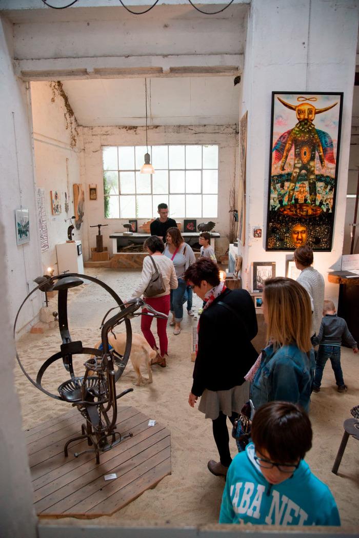 Journées du patrimoine 2018 - Visite d'un ancien site industriel minier devenu collectif artistique