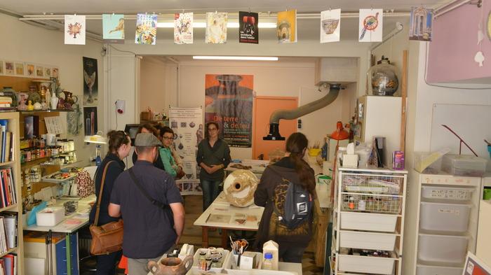 Journées du patrimoine 2018 - Visite d'un atelier de conservation-restauration d'oeuvres d'art