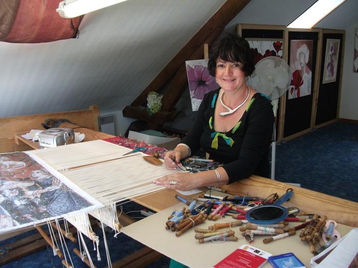 Journées du patrimoine 2018 - Visite d'un atelier de tapisseries d'Aubusson avec démonstration