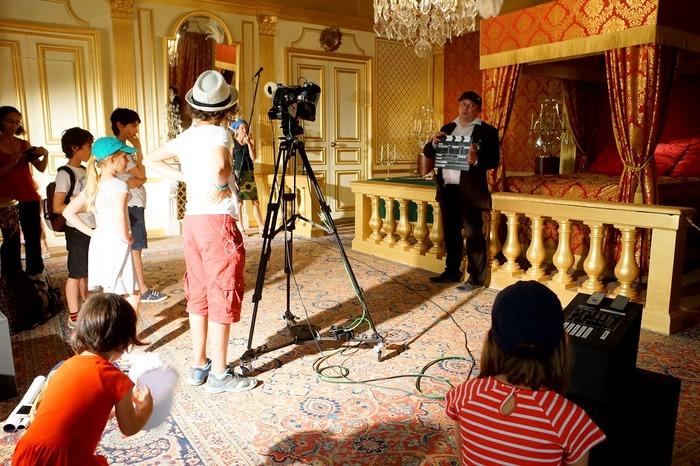 Journées du patrimoine 2018 - Visite d'un décor et studio de cinéma : reproduction de la chambre de Louis XIV à Versailles