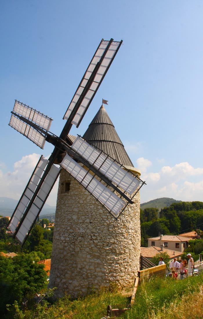 Journées du patrimoine 2018 - Visite d'un Moulin à vent de Provence