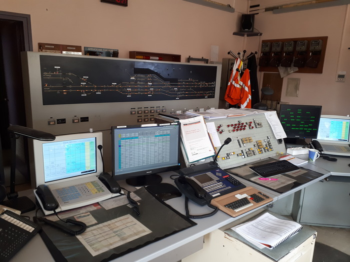 Journées du patrimoine 2018 - Visite d'un poste d'aiguillage SNCF