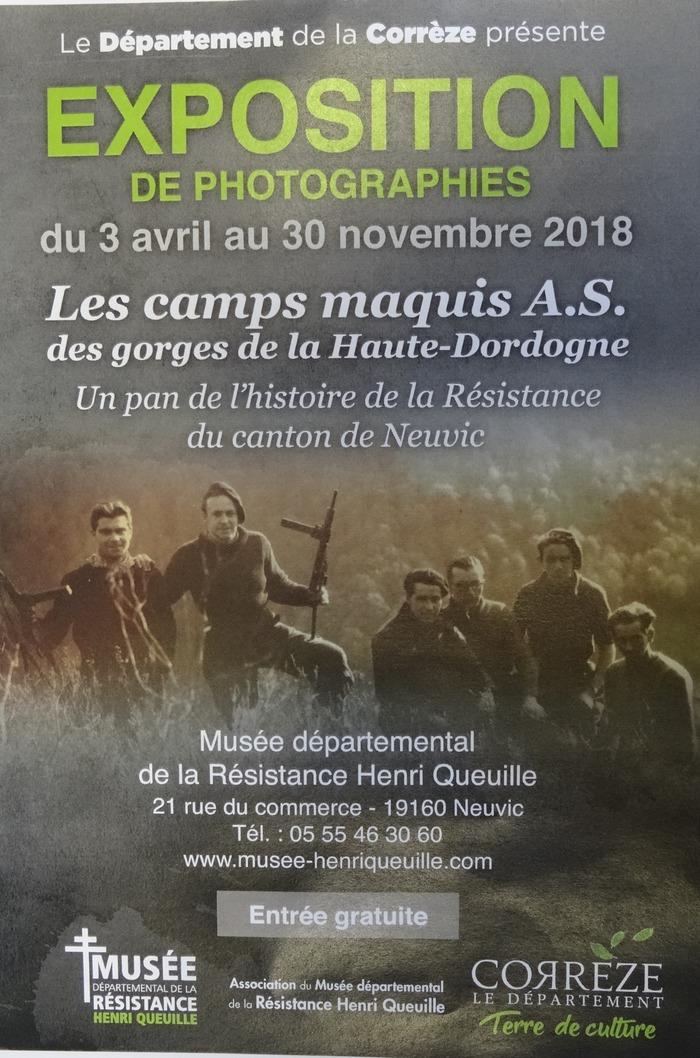 Journées du patrimoine 2018 - Visite d'une exposition photographique dédiée à la Résistance