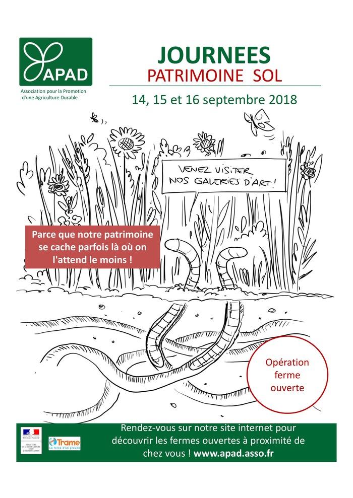 Journées du patrimoine 2018 - Visite d'une ferme engagée dans la préservation du