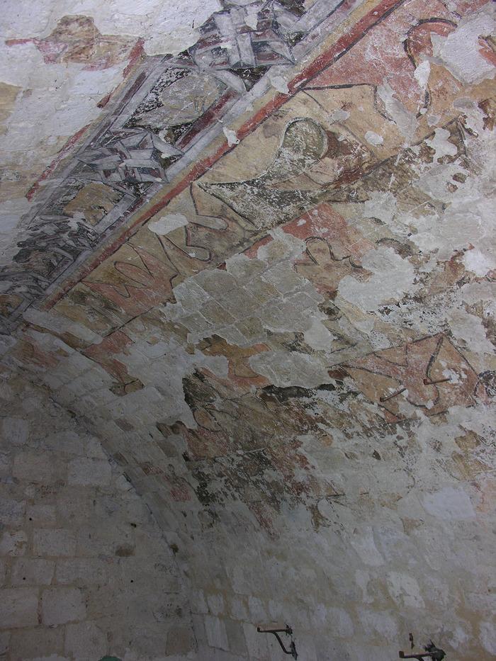 Journées du patrimoine 2018 - Visite libre d'une salle voûtée peinte au XIVe siècle