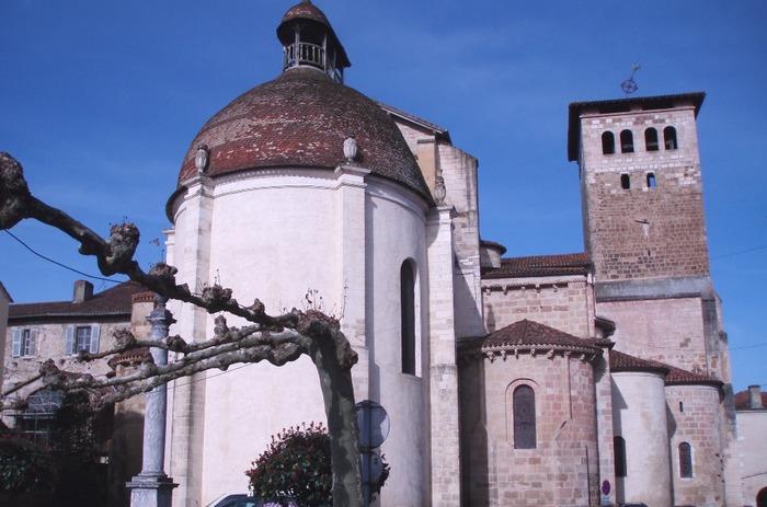 Journées du patrimoine 2018 - Visite de l'abbatiale de Saint-Sever, de son cloître et de la salle du Trésor