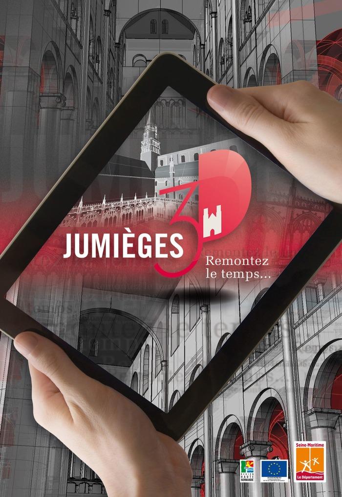 Journées du patrimoine 2018 - Visite guidée de l'abbaye de Jumièges grâce à une application numérique
