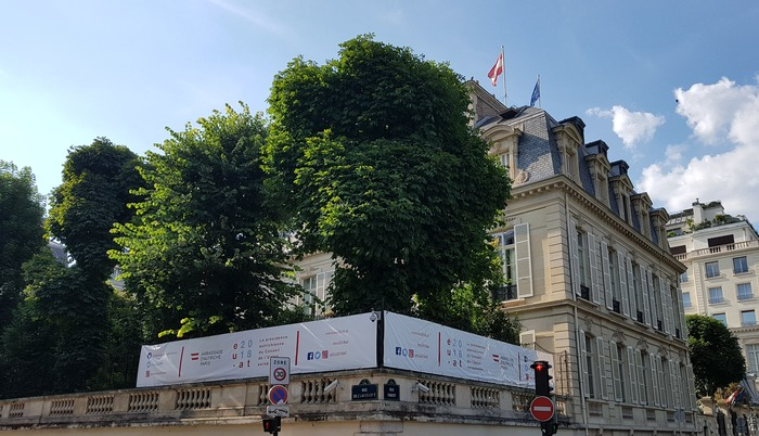 Journées du patrimoine 2018 - Visite de l'Ambassade d'Autriche