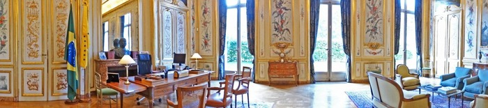 Journées du patrimoine 2018 - Visite de l'ambassade du Brésil en France (Hôtel Schneider)