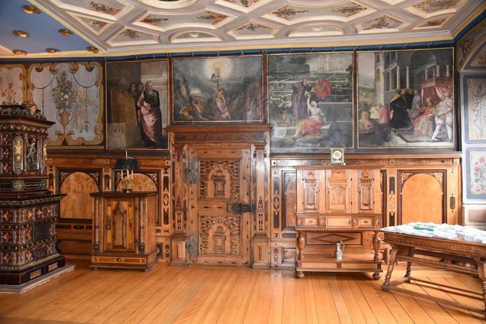 Journées du patrimoine 2018 - Visite de l'ancienne salle de justice et de conseil municipal