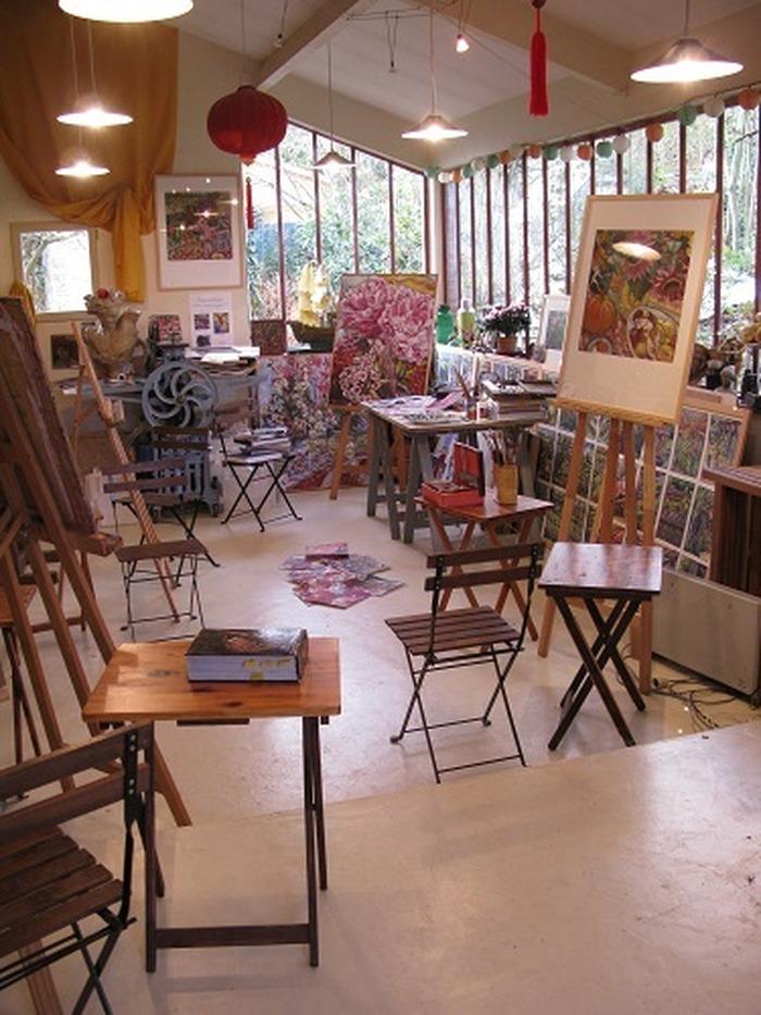 Journées du patrimoine 2018 - Visite de l'atelier de Catherine Bouffard